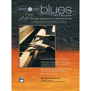 Listen and Play Blues Keyboard - Book & CD