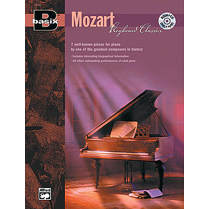 Basix Keyboard Classics: Mozart - Book & CD