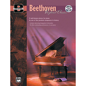 Basix Keyboard Classics: Beethoven - Book & CD
