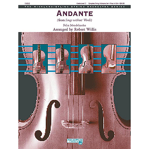 Andante From Songs Without Words