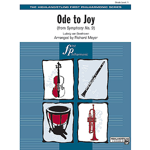 Ode To Joy From Symphony No. 9