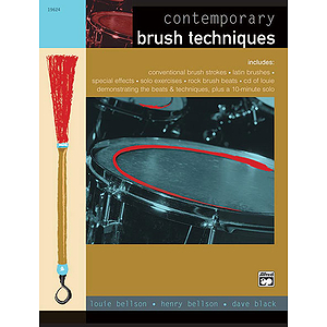 Contemporary Brush Techniques - Book & CD