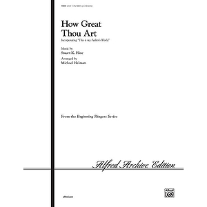How Great Thou Art - 2-3 Octaves