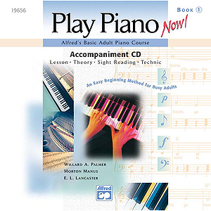 Alfred's Basic Adult Play Piano Now! - Book 1, CD Only
