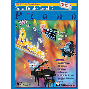 Alfred's Basic Piano Course - Top Hits! Solo Book Level 5