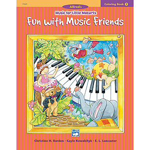 Music for Little Mozarts - Coloring Book 1 (Fun with Music Friends)
