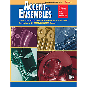 Accent on Ensembles: Bassoon, Electric Bass