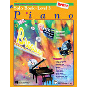 Alfred's Basic Piano Course - Top Hits! Solo Book & CD Level 3