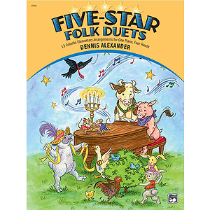 Five-Star Folk Duets (1P, 4H)