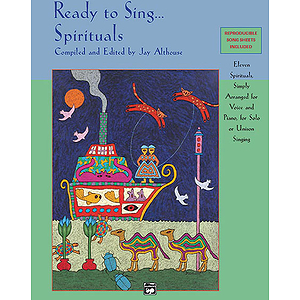 Ready To Sing… Spirituals - Book