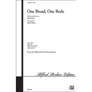 One Bread, One Body - SATB