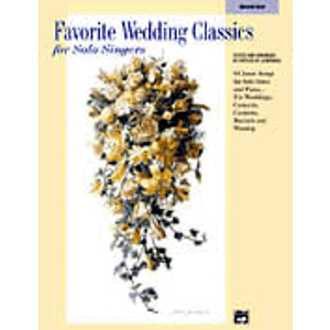 Favorite Wedding Classics for Solo Singers - Accompaniment CD