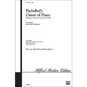 Pachelbel&#039;s Canon of Peace - SATB