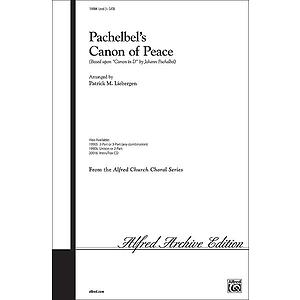 Pachelbel's Canon of Peace - SATB