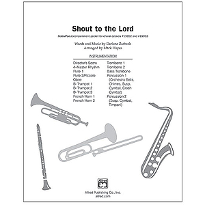 Shout To the Lord - InstruPax
