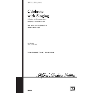 Celebrate with Singing - SATB Or 2-Part Mixed
