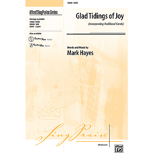 Glad Tidings of Joy - SATB