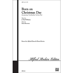 Born on Christmas Day - SATB