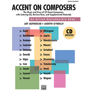 Accent on Composers - CD Kit (Book/CD) (Includes Reproducible Student Pages)