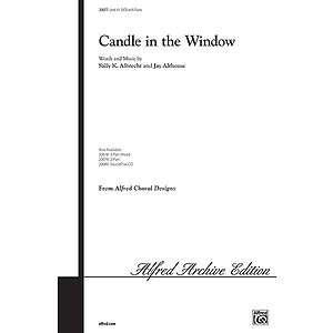 Candle in The Window - SATB