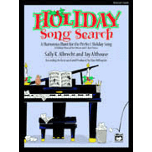 Holiday Song Search - Soundtrax CD