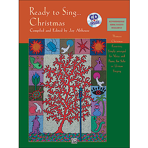 Ready To Sing… Christmas - Book & CD