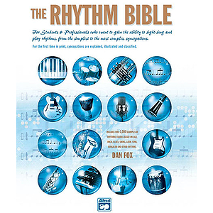 The Rhythm Bible - Book & CD