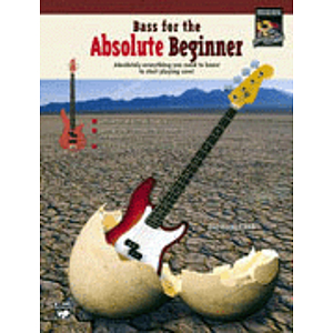 Bass for The Absolute Beginner - Book