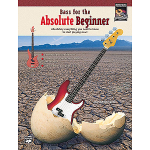 Bass for The Absolute Beginner - Book & CD