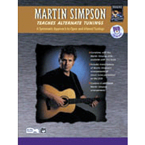 Martin Simpson Teaches Alternate Tunings - Book &amp; DVD