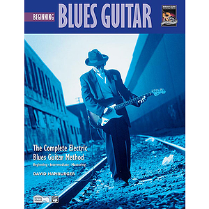 Beginning Blues Guitar - Book & DVD