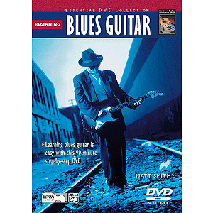 Beginning Blues Guitar - DVD