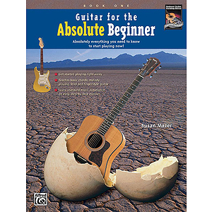 Guitar for The Absolute Beginner, Book 1 - Book & DVD
