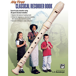 My First Classical Recorder Book - Book Only