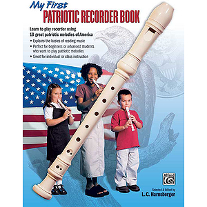 My First Patriotic Recorder Book - Book Only