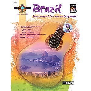 Guitar Atlas: Brazil - Book & CD