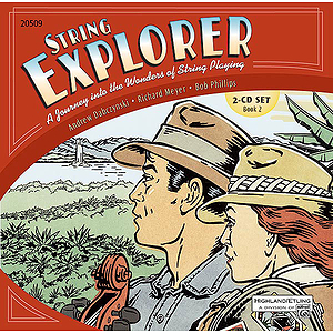 String Explorer, Book 2: Accompaniment Recordings 2-Cd Set