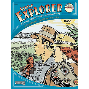String Explorer, Book 1: Bass