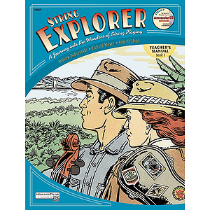 String Explorer, Book 1: Teacher's Manual