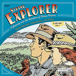 String Explorer, Book 1: Accompaniment Recordings 2-Cd Set