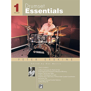 Drumset Essentials - Volume 1 - Book & CD