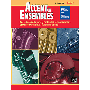 Accent on Ensembles, Book 2: Bb Tenor Sax