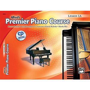 Alfred's Premier Piano Course - Lesson Book & CD Level 1A