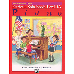 Alfred's Basic Piano Course - Patriotic Book Level 1A