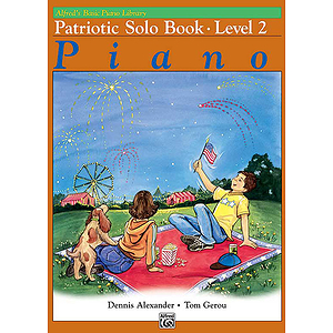 Alfred's Basic Piano Course - Patriotic Book Level 2