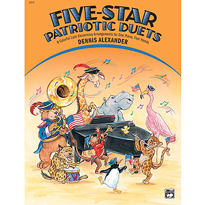 Five-Star Patriotic Duets (1P, 4H)