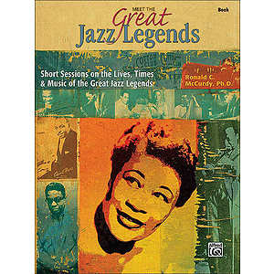 Meet the Great Jazz Legends - Book