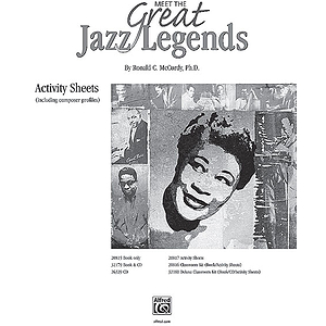 Meet the Great Jazz Legends - Reproducible Activity Sheets
