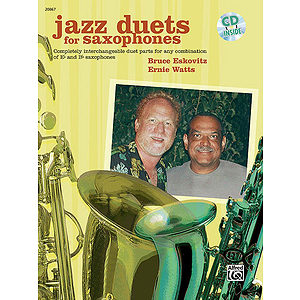 Jazz Duets for Saxophones - Book and CD