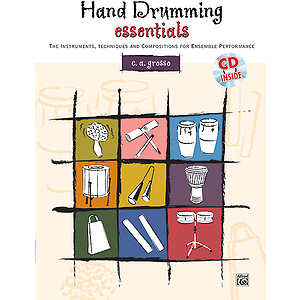 Hand Drumming Essentials - Book & CD